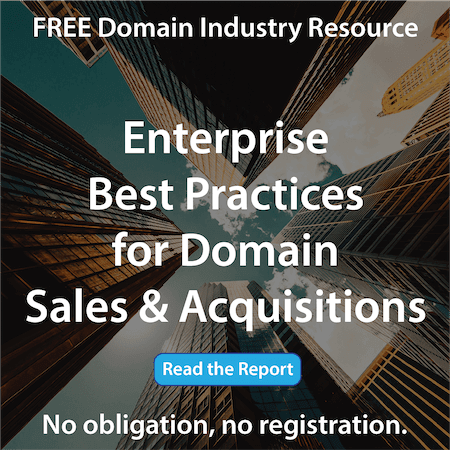 Domain Name Broker - Industry White Paper